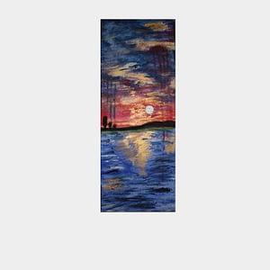Sweet Sunset - Acrylic Painting